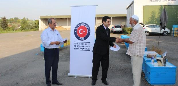TİKA Azerbaycan'da Engellilerin Evlerini İşyerine Dönüştürüyor - 4